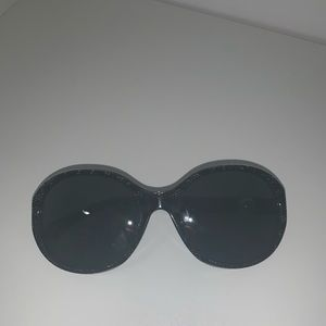 Authentic Chanel Sunglasses with Pearl Sides